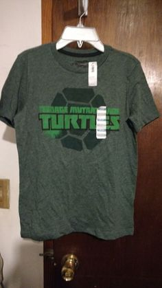 Teenage Mutant Ninja Turtles Boys Poly T Shirt Size L Passingon Savings Ebay 099 Cent Auctions