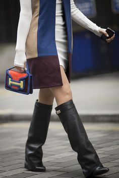 Best Street Style Bags and Shoes at Fashion Week Fall 2015   POPSUGAR Fashion
