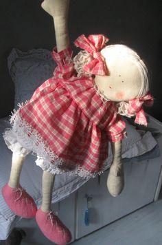 Pays poupées poupées primitif tissu poupées primitif poupée