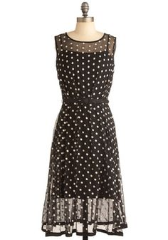 Piano Performance Dress, #ModCloth. this is a very classic look that will always be in fashion