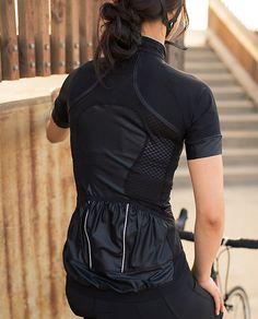 lululemon cycling jersey