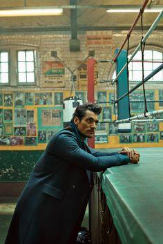 David Gandy for Esquire Singapore - Tomo Brejc
