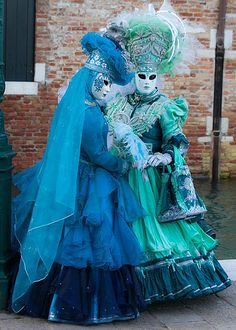 https://flic.kr/p/eBGczi | Posing on a canal | I can't believe how lucky I was to check out the 2013 Carnavale in Venice - what a spectacle and experience! On certain days there are organized events for the masqueraders. On this day, Thursday, 7 February, there was a big gathering at the Santa Maria della Salute - so many photo ops - and great weather too - life is good!