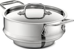 All-Clad 59915 Stainless Steel All-Purpose Steamer with Lid Cookware, Silver *** Click image to review more details. #cuisine