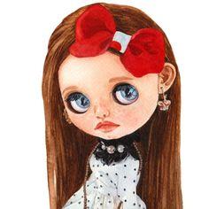 GiuliaDolls by Giuliadolls She Is Gorgeous, Beautiful Dolls, Blythe Dolls For Sale, Soft Hair, Custom Dolls, Big Eyes, Pink Hair, Cute Gifts, Etsy Seller