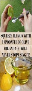 Squeeze 1 lemon with 1 spoonful of olive oil and you will never stop using it! Home Remedies, Natural Remedies, Holistic Remedies, Olive Oil Benefits, Lemon Olive Oil, Natural Health, Cleanse, Health Tips, Health Benefits