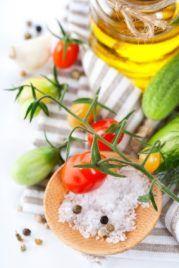 Ernährungsumstellung, leichte Kost genießen, gesund leben
