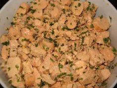 Receita de Salada de Ovas .