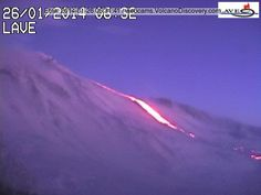 Volcanoes Today, 26 Jan 2014: Nishino-shima, Santa María / Santiaguito, Pacaya, Fuego, Gorely, Etna