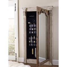 Rhapsody Floor Jewelry Armoire with Mirror | Wayfair | Jewelry ...