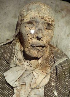 These 200-year-old mummies aren't a product of complex embalming methods, just a dry crypt and a cool breeze. Under these conditions, seven corpses which should have decomposed were instead found as seven natural mummies underneath the St. Nicholas Church in Neditz, Germany. On April 27, two of the best preserved mummies, the bodies of Johanna Juliane Pforte and Robert Christian von Hake, went on display in the church.