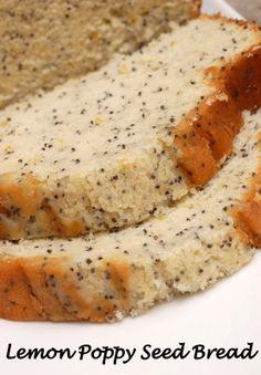 Sugar & Spice by Celeste: When Life Hands You Lemons, Make Lemon Poppy Seed Bread!!!