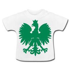 Polska Baby Shirt [Weiß/Grün/Samtig] - Baby T-Shirt