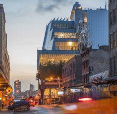 Renzo Pianos Whitney-Museum / Superstars in New York - Architektur und Architekten - News / Meldungen / Nachrichten - BauNetz.de