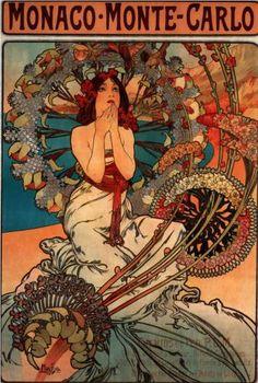 Alphonse Mucha - amazing. I never can seem to pick a favorite.....