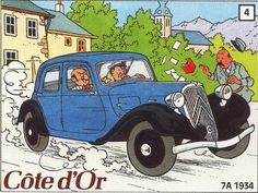 Côte d'or - Citroën Traction Avant