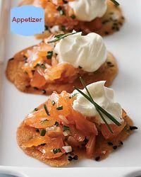 ♥ Smoked Salmon Crisps ~ recipe of Thomas Keller ♥   #DreamKitchen