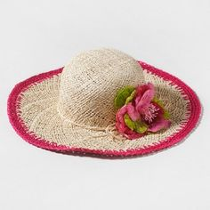 Don't forget to pack a woven straw floppy hat!