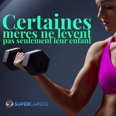 meres-poids-fitness-supercardio Citations Sport, Affirmations, Fitness Motivation, Workout, Sports, Shakeology, Voici, Training, Sculpture