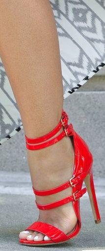 red ziginy beni high heel