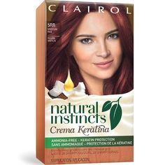 Natural Instincts Red Hair Color - Best Hair Color to Cover Gray at Home Check more at http://frenzyhairstudio.com/natural-instincts-red-hair-color/