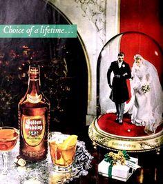 Golden Wedding Whisky 1947