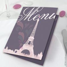 Menu Mariage Paris