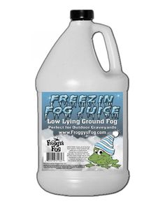 Froggy's Fog Freezing Fog Juice - Fluids - Fog, Haze, Bubble, Snow Machines - Lighting