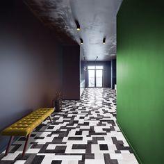 Herringbone Backsplash, Laminate Flooring, Contemporary, Modern, Tile Floor, Interior Design, Luxury, House, Home Decor