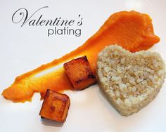 Valentine's Day Food Plating Tips Valentines Day Food, Valentine Crafts, Food Hacks, Food Tips, Food Ideas, Heart Shaped Cookie Cutter, Feta Salad, Food Presentation, Food Plating