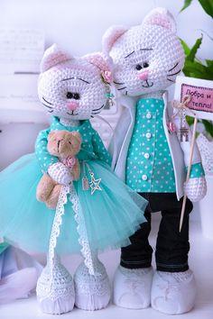 """Пара """"Завтрак у Тиффани"""" - HolyMoly - магазин авторских игрушек ручной работы и подарков для детей"""