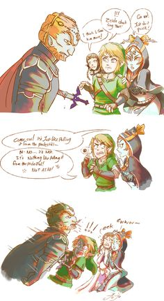 he DID get that sword back…
