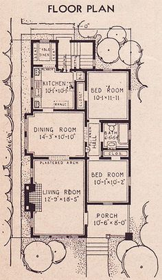 1936 Sears Collingwood Plan by American Vintage Home, I want a Sears craftsman house!!