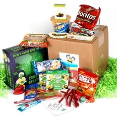 College Student Care Package- Zombie Snack Attack $45.95 #college #carepackage #zombie