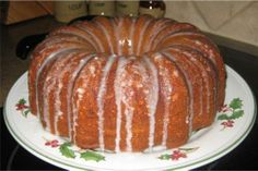 """""""This cake is a very moist banana cake that travels well to pot lucks or picnics. It can also be baked in a pan or an angel food cake pan. It is a family favorite. Bread Cake, Pie Cake, Pound Cake, Just Desserts, Delicious Desserts, Yummy Food, Banana Pudding Cake, Banana Bundt, Cupcake Cakes"""