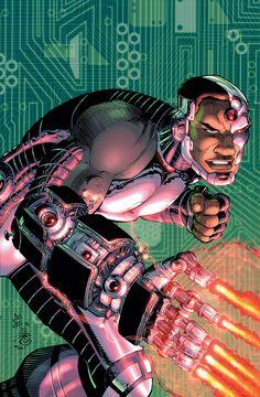 John Romita Jr - Cyborg