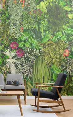 This collection of living wall wallpapers celebrate not only the beauty of mother nature through beautiful design, but our modern-day desire to re-establish our relationship with earth. Get inspired by the brilliantly botanical and environmentally friendly collection here. >>
