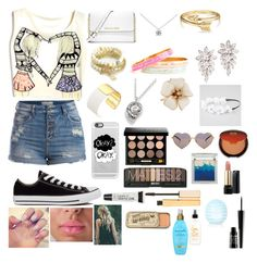 """""""✌️"""" by greenleefountain ❤ liked on Polyvore featuring Pieces, Converse, MICHAEL Michael Kors, Juicy Couture, Tiffany & Co., Bling Jewelry, Kate Spade, Talbots, Full Tilt and Casetify"""