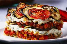 Diese Ratatouille-Lasagne würde jeden Restaurantkritiker begeistern