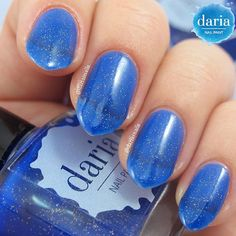 A very close look on the Starry Night color. I actually start to like it more and more... #darianailpaint