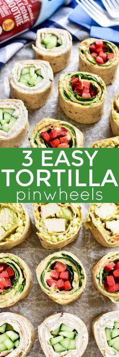 Tortilla Pinwheels m