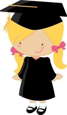 Dibujos - Clipart - Digi stamp - Little graduate girls - Minus Graduation Images, Graduation Cards, Graduation Clip Art, Graduation Theme, Graduation Quotes, Cute Images, Cute Pictures, Kindergarten Graduation, Cute Clipart