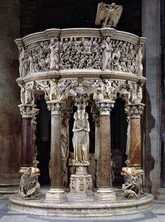 Giovanni Pisano - Pulpito, 1301-1310 - Duomo, Pisa