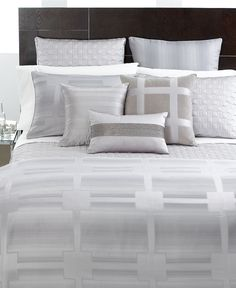 Hotel Collection Bedding, Meridian Quartz Quilted King Sham - Bedding Collections - Bed & Bath - Macys