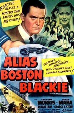 Alias Boston Blackie Us Poster Art From Left: Chester Morris Adele Mara 1942 Movie Poster Masterprint Sands Of Iwo Jima, Tough Guy, Series Movies, Classic Movies, Vintage Movies, Chester, Cops, Adele, Boston