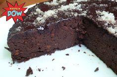 Anna's Flourless Dark Chocolate Birthday Protein Cake