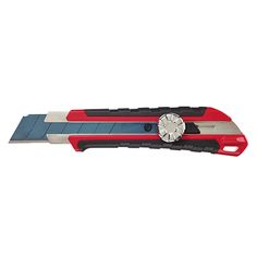 Milwaukee 25 mm Snap Off Knife with Metal Lock and Precision Cut - The Home Depot Blade Shop, Milwaukee Power Tools, Utility Knife, Knife Handles, Hand Tools, Home Depot, Acetone, Metal, Time Saving