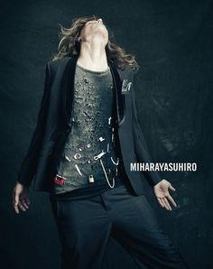 Tomek Szczukiecki photographed by Paolo Roversi - Miharayasuhiro Ad Campaign: Spring/Summer 2011