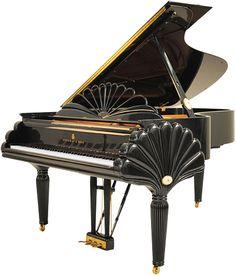 Satin piano. Love it!
