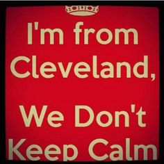 That's how Cleveland does it.  #CLE  #humor